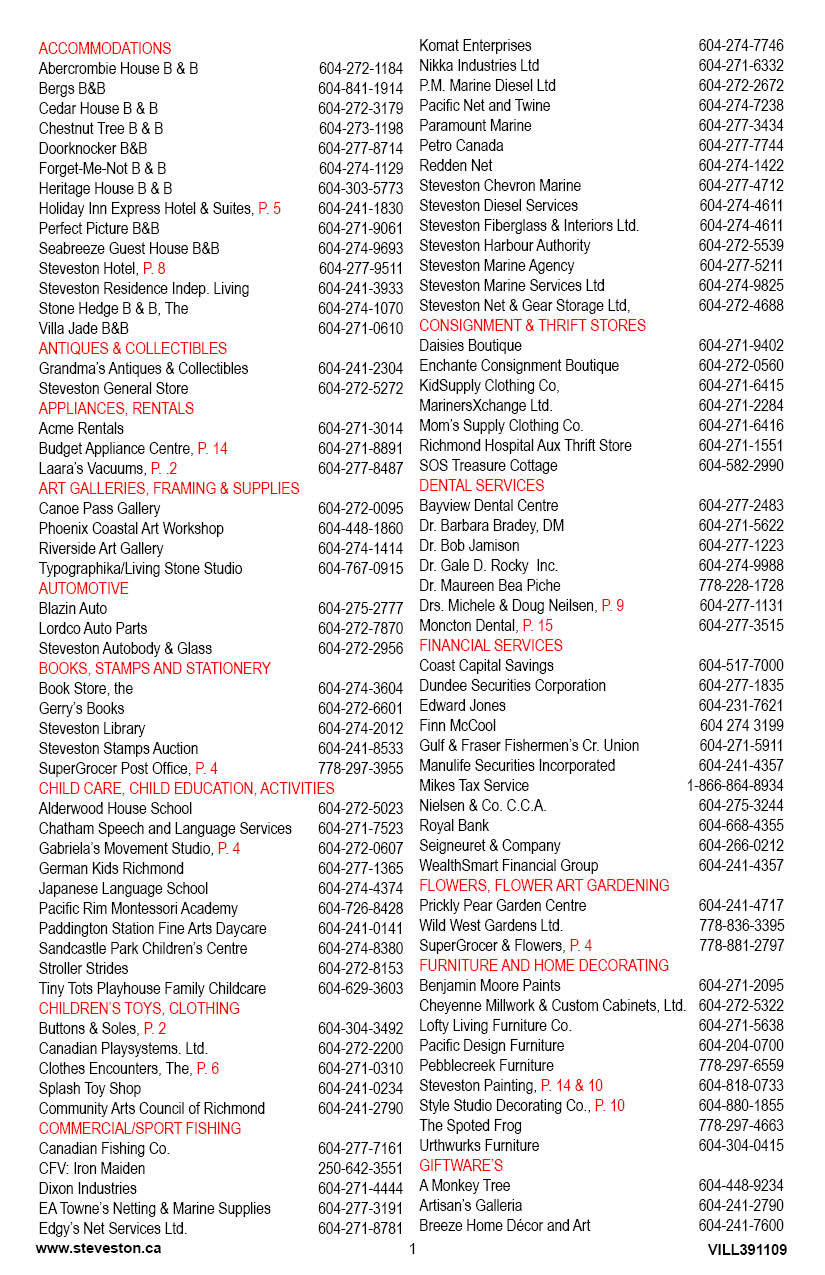 the steveston village community website rh steveston bc ca Fahrenheit 451 Study Guide Answers Anthem Study Guide Answers